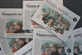 """German daily Sueddeutsche Zeitung featuring the """"Panama Papers"""" expose of 11.5 million documents allegedly exposing the secret offshore dealings of aides to Russian president Vladimir Putin, world leaders and celebrities including Barcelona striker Lionel Messi. Photo: AFP"""