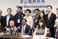 Lawmakers and human rights activists made their call on Monday. Photo: Sam Tsang