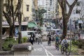 Tai Po's network of cycle tracks was the first in Hong Kong. Photos: Christopher DeWolf