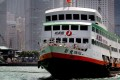New World First Ferry's Xin Fei in Hong Kong harbour. Photo: SCMP Pictures