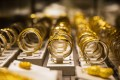 Gold bangles on display at a Chow Tai Fook store in Hong Kong. Photo: Bloomberg