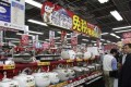 China, which is trying to transform itself into a consumer-driven economy, is encouraging production of better consumer appliances such as rice cookers to reduce reliance on foreign made goods. Photo: AP