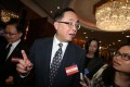 Innovation and technology minister Nicholas Yang appeared upset when he was asked about the two BVI firms. Photo: Dickson Lee