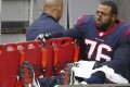 Duane Brown was cleared of a dope test after blaming it on Mexican meat. Photo: AFP