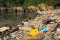 Plastic and other litter washed up on a beach close to Long Ha Wan, in Clearwater Bay, Hong Kong. Photo: Tessa Chan