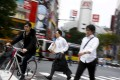 In Japan, the number of hedge funds has remained stagnantover the past four years. Photo: Reuters