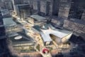 Rendition artwork for the Shanghai Dream Centre. SCMP Pictures