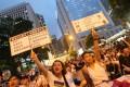 Protesters at a democracy rally in Hong Kong. Photo: David Wong