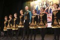 The Rainbow Troupe from Beijing on stage during the 5th International Feis and Championships in Ho Man Tin. Photo: Rachel Cheung