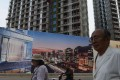 Soaring land prices are squeezing developers' margins and in some cases jeopardising a company's survival. Photo: AFP