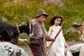 Peter (Quirin Agrippi) und Heidi (Anuk Steffen) in a scene from Alain Gsponer's film Heidi (category I: German)