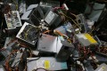 Electronic waste is becoming more of a problem worldwide. Photo: AFP