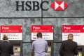 HSBC and Deutsche Bank indicated they would consider moving staff away from the UK should Britain decide to leave the EU. Photo: AFP