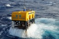 The latest missions were carried out with a remote-controlled diving vessel made in China named Seahorse. Photo: Guangzhou Marine Geological Survey