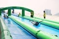Ride the giant water slide in Central this summer.