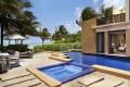 An ocean view villa at the Banyan Tree Mayakoba, Mexico.