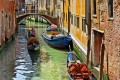 Expect to pay €80 for a 40-minute gondola ride taking in some of Venice's 177 canals.