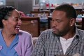 Anthony Anderson and Tracee Ellis Ross in comedy series black-ish.