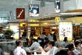 Food outlets at Hong Kong International Airport. Retail licences and advertising revenue represent 41.4 per cent of total revenue at the airport. Photo: handout