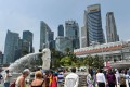 The Formula One Singapore Grand Prix has proven a significant boost to the city state's tourism since it was first held in 2008. Photo: AFP