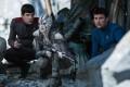 Zachary Quinto, Sofia Boutella and Karl Urban star in Star Trek Beyond.