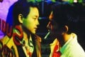 A newly released still image of Leslie Cheung and Tony Leung in Happy Together forms part of the cover artwork for a special edition of the film's soundtrack released to mark its production company's 25th anniversary.