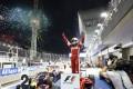 Sebastian Vettel wins for Ferrari on the Singapore track last year. Photo: LAT Photographic