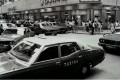 Urban taxis on Cleveland Street, in Causeway Bay, in the 1980s.