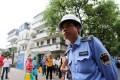 A file picture of an urban enforcement officer in Suzhou, Jiangsu province. Photo: Alamy