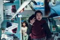 Gong Yoo plays a father trying to survive a zombie outbreak in Train to Busan (category: IIB, Korean), directed by Yeon Sang-ho and also starring Kim Soo-an.