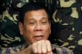 Philippine President Rodrigo Duterte warned of a 'reckoning' with China if there was no resolution to a tense dispute over rival claims to the South China Sea. Photo: Reuters