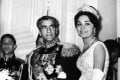 Mohammad Reza Pahlavi and Farah Diba, in 1959. Picture: AFP