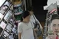 Surveillance footage showed members of the group would distract shopkeepers while others pilfered products. Photo: SCMP Pictures