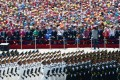 PLA forces parade in Beijing on last September 3 to commemorate the end of the second world war. Xinhua