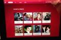 Air Canada rouge entertainment using an iPad.