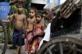 More than 40 per cent of cases reported this year involve children being bought, sold and exploited as modern day slaves, government crime data showed. Photo: AP