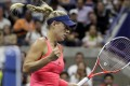 Angelique Kerber reached the quarter-finals in New York with a straight sets win over Petra Kvitova of Czech Republic. Photo: EPA