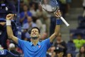 Novak Djokovic of Serbia completed a full match at this year's US Open for the first time in his last-16 win over Kyle Edmund. Photo: USA Today