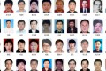 Some of the suspects on China's list of 100 most wanted corruption suspects. Photo: SCMP Pictures
