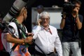 Formula One boss Bernie Ecclestone in the paddock at the Autodromo Nazionale circuit in Monza on September 2. Photo: AFP