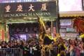 Crowd at Chungking Mansions for Chinese New Year at Tsim Sha Tsui. Photo: Nora Tam