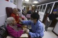 Elderly Hongkongers that are moderately or severely impared are eligible to apply for one of 3000 vouchers under the government's community care subsidy scheme. Photo: Jonathan Wong