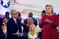 Today show co-host Matt Lauer alongside Democratic presidential candidate Hillary Clinton. Photo: AP