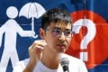 Student leader Alex Chow Yong-Kang feared his UK study visa application had been delayed due to a recent conviction over his involvement in the 2014 Occupy Central movement. Photo: SCMP Pictures
