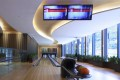 At the The Visionary in Tung Chung, sunshine also pours into its two-lane bowling alley. Photo: courtesy of PAL Design