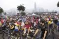 Participants at last year's Hong Kong Cyclothon. Photo; SCMP Pictures