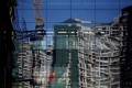 A file picture of a construction site in Beijing. Photo: Reuters