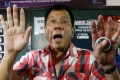 Philippine President Rodrigo Duterte is known for his outspokenness but analysts say his words do not set policy. Photo: AP