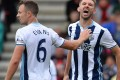 West Bromwich Albion's Northern Irish defender Gareth McAuley shouts at an official during the English Premier League football match between Bournemouth and West Bromwich Albion at the Vitality Stadium in Bournemouth, southern England. A Chinese group completed its takeover of West Brom. Photo: AFP