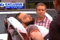 A still image captured from a video from WABC television shows a man believed to be New York bombing suspect Ahmad Khan Rahami being loaded into an ambulance after a shoot-out with police in Linden, New Jersey. Photo: Reuters/ WABC-TV